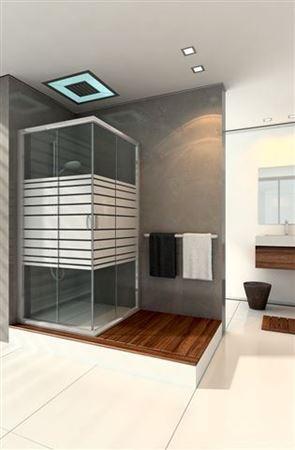 מקלחונים מרובעים