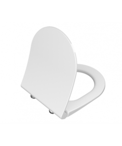 תמונה של אורבן מושב אוניברסלי דק לבן סגירה שקטה ציר מתכת