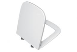 תמונה של אס S20 מושב אסלה לבן ציר מתכת
