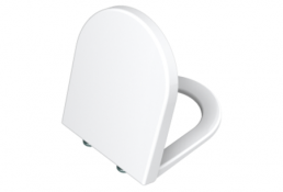 תמונה של אס S50 מושב אסלה לבן ציר מתכת מתפרק