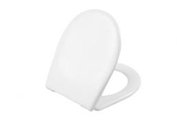 תמונה של ארכיטקט מושב אסלה ציר מתכת לבן