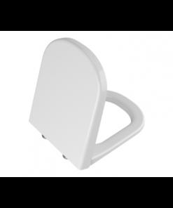 תמונה של די לייט מושב אסלה לבן ציר ניקל