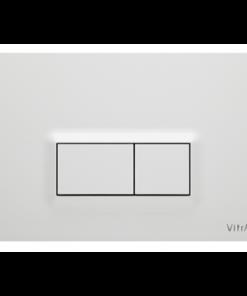 תמונה של לחצן LOOP R לבן מבריק ויטרה