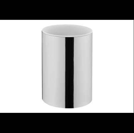 תמונה של נסט כוס למברשת שיניים שולחני ניקל