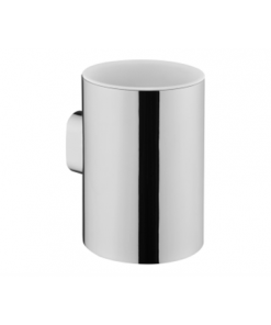 תמונה של נסט כוס למברשת שיניים תלוי ניקל