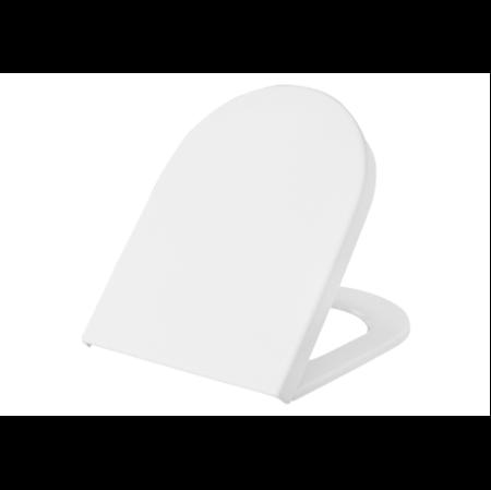 תמונה של נסט מושב אסלה לבן צ.מתכת