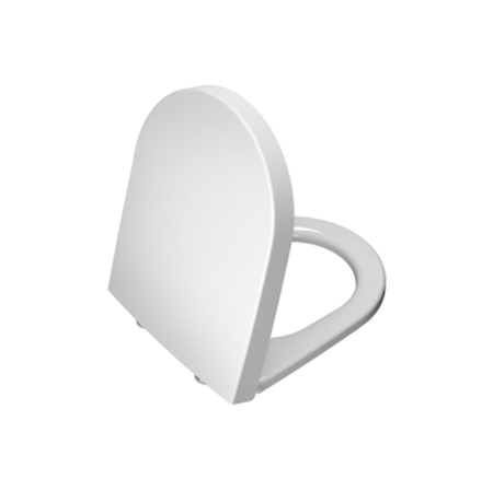 תמונה של נסט/מונדו מושב אסלה לבן צ.מתכת