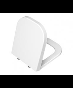 תמונה של רטרו מושב אסלה לבן צ.מתכת